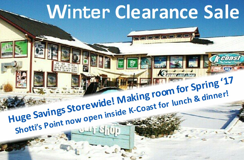 2017 Winter Clearance Sale